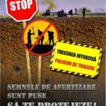 """MApN lanseaza campania de informare: """"SEMNELE DE AVERTIZARE SUNT PUSE SĂ TE PROTEJEZE!"""""""