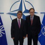 Ministrul apărării naţionale, Mircea Duşa a avut o întâlnire la Bruxelles cu Secretarul General Adjunct al NATO