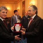 MApN: Intalnire intre ministrul apararii roman, Mircea Dusa şi omologul său portughez, José Pedro Aguiar-Branco