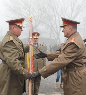 Preluarea comenzii  Brigazii 282 Infanterie