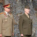 Comandantul Forţelor de Infanterie Marină ale SUA din Europa (MARFOREUR) in vizita la SMFT