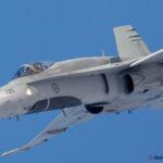 Sase avioane CF-18 Hornet pe cerul Romaniei
